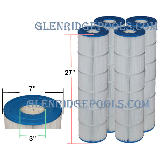 C 7468 4 Jandy Cl460 115 Sq Ft Cartridge Filter 4 Pack
